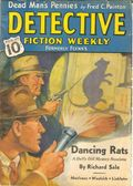 Detective Fiction Weekly (1928-1942 Red Star News) Pulp Vol. 109 #1