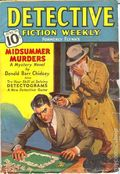 Detective Fiction Weekly (1928-1942 Red Star News) Pulp Vol. 111 #5
