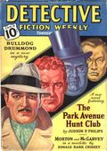 Detective Fiction Weekly (1928-1942 Red Star News) Pulp Vol. 116 #4