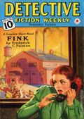 Detective Fiction Weekly (1928-1942 Red Star News) Pulp Vol. 117 #5