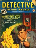 Detective Fiction Weekly (1928-1942 Red Star News) Pulp Vol. 126 #4