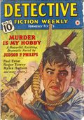 Detective Fiction Weekly (1928-1942 Red Star News) Pulp Vol. 135 #1