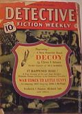 Detective Fiction Weekly (1928-1942 Red Star News) Pulp Vol. 143 #1