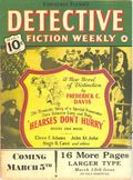 Detective Fiction Weekly (1928-1942 Red Star News) Pulp Vol. 143 #6