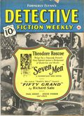 Detective Fiction Weekly (1928-1942 Red Star News) Formerly Flynn's Vol. 144 #6