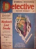 Detective Fiction Weekly (1928-1942 Red Star News) Pulp Vol. 147 #4