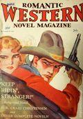 Romantic Western Novel Magazine (1931 Triumph New Co. Inc.) Pulp Vol. 1 #1