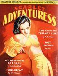 Scarlet Adventuress (1935-1937 Associated Authors) Pulp 1st Series Vol. 1 #8
