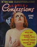 Scarlet Confessions (1936-1937 Associated Authors) Pulp 1st Series Vol. 1 #3