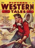 Fifteen Western Tales (1942-1955 Popular) Pulp Vol. 9 #4