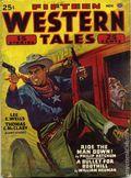 Fifteen Western Tales (1942-1955 Popular) Pulp Vol. 11 #2