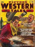 Fifteen Western Tales (1942-1955 Popular) Pulp Vol. 12 #1