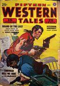 Fifteen Western Tales (1942-1955 Popular) Pulp Vol. 17 #1