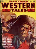 Fifteen Western Tales (1942-1955 Popular) Pulp Vol. 24 #3