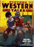 Fifteen Western Tales (1942-1955 Popular) Pulp Vol. 25 #4