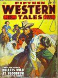 Fifteen Western Tales (1942-1955 Popular) Pulp Vol. 26 #1