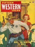 Fifteen Western Tales (1942-1955 Popular) Pulp Vol. 27 #2