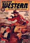 Greater Western Action Novels Magazine (1939-1941 Double-Action Magazines) Vol. 2 #1