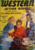 Western Action Novels Magazine (1936-1960 Columbia) 1st Series Pulp Vol. 3 #5