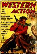 Western Action Novels Magazine (1936-1960 Columbia) 1st Series Pulp Vol. 5 #2