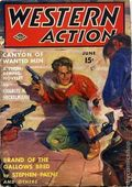 Western Action Novels Magazine (1936-1960 Columbia) 1st Series Pulp Vol. 6 #1