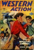 Western Action Novels Magazine (1936-1960 Columbia) 1st Series Pulp Vol. 7 #6