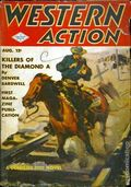 Western Action Novels Magazine (1936-1960 Columbia) 1st Series Pulp Vol. 8 #3