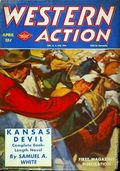 Western Action Novels Magazine (1936-1960 Columbia) 1st Series Pulp Vol. 9 #5