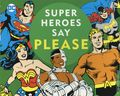 DC Super Heroes Say Please HC (2018 Downtown Bookworks) Board Book 1-1ST