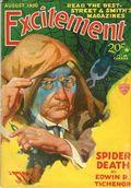 Excitement (1930-1931 Street & Smith) Pulp Aug 1930