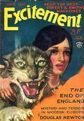 Excitement (1930-1931 Street & Smith) Pulp Sep 1930
