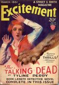 Excitement (1930-1931 Street & Smith) Pulp Vol. 22 #1