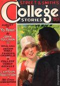 College Stories (1931-1932 Street & Smith) Pulp Aug 1931