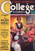 College Stories (1931-1932 Street & Smith) Pulp Dec 1931
