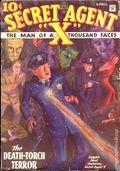 Secret Agent X (1934-1939 Periodical House) Pulp Apr 1934