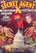 Secret Agent X (1934-1939 Periodical House) Pulp May 1934
