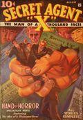 Secret Agent X (1934-1939 Periodical House) Pulp Aug 1934