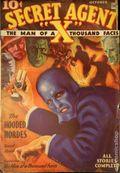 Secret Agent X (1934-1939 Periodical House) Pulp Oct 1934