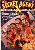 Secret Agent X (1934-1939 Periodical House) Pulp Dec 1934