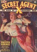 Secret Agent X (1934-1939 Periodical House) Pulp Jan 1935