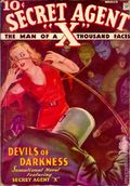 Secret Agent X (1934-1939 Periodical House) Pulp Vol. 5 #1