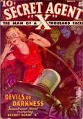 Secret Agent X (1934-1939 Periodical House) Pulp Mar 1935