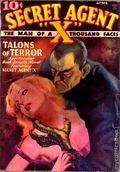 Secret Agent X (1934-1939 Periodical House) Pulp Apr 1935
