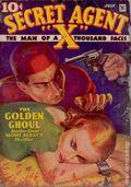 Secret Agent X (1934-1939 Periodical House) Pulp Jul 1935