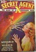 Secret Agent X (1934-1939 Periodical House) Pulp Aug 1935