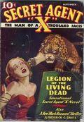 Secret Agent X (1934-1939 Periodical House) Pulp Sep 1935
