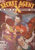 Secret Agent X (1934-1939 Periodical House) Pulp Oct 1935
