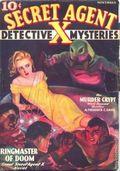 Secret Agent X (1934-1939 Periodical House) Pulp Nov 1935