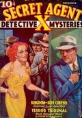 Secret Agent X (1934-1939 Periodical House) Pulp Dec 1935