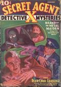 Secret Agent X (1934-1939 Periodical House) Pulp Jan 1936